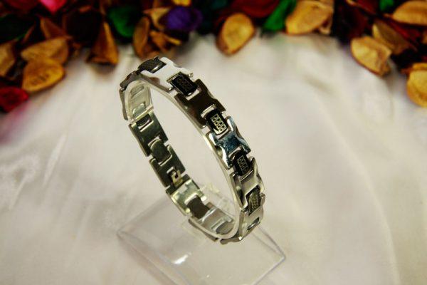 دستبند استیل طرح ورساچی