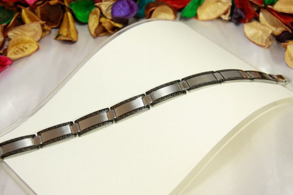 دستبند استیل طرح ورساچه