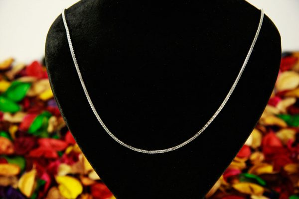 گردنبند زنجیر استیل باریک
